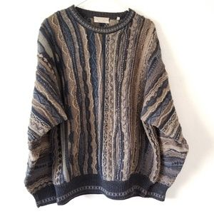 Vtg. 90s Norm Thompson Cosby sweater